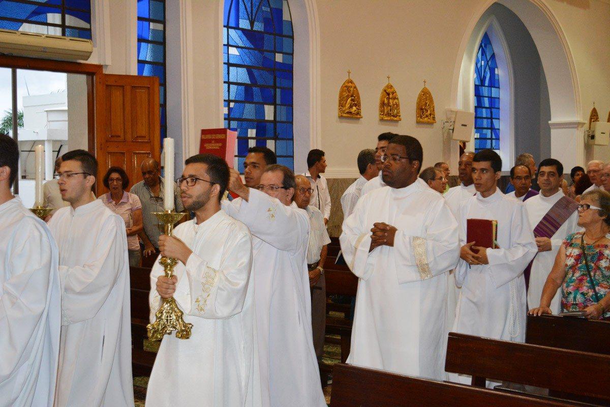 Dom Félix celebra missa em ação de graças pelo seu aniversário natalício