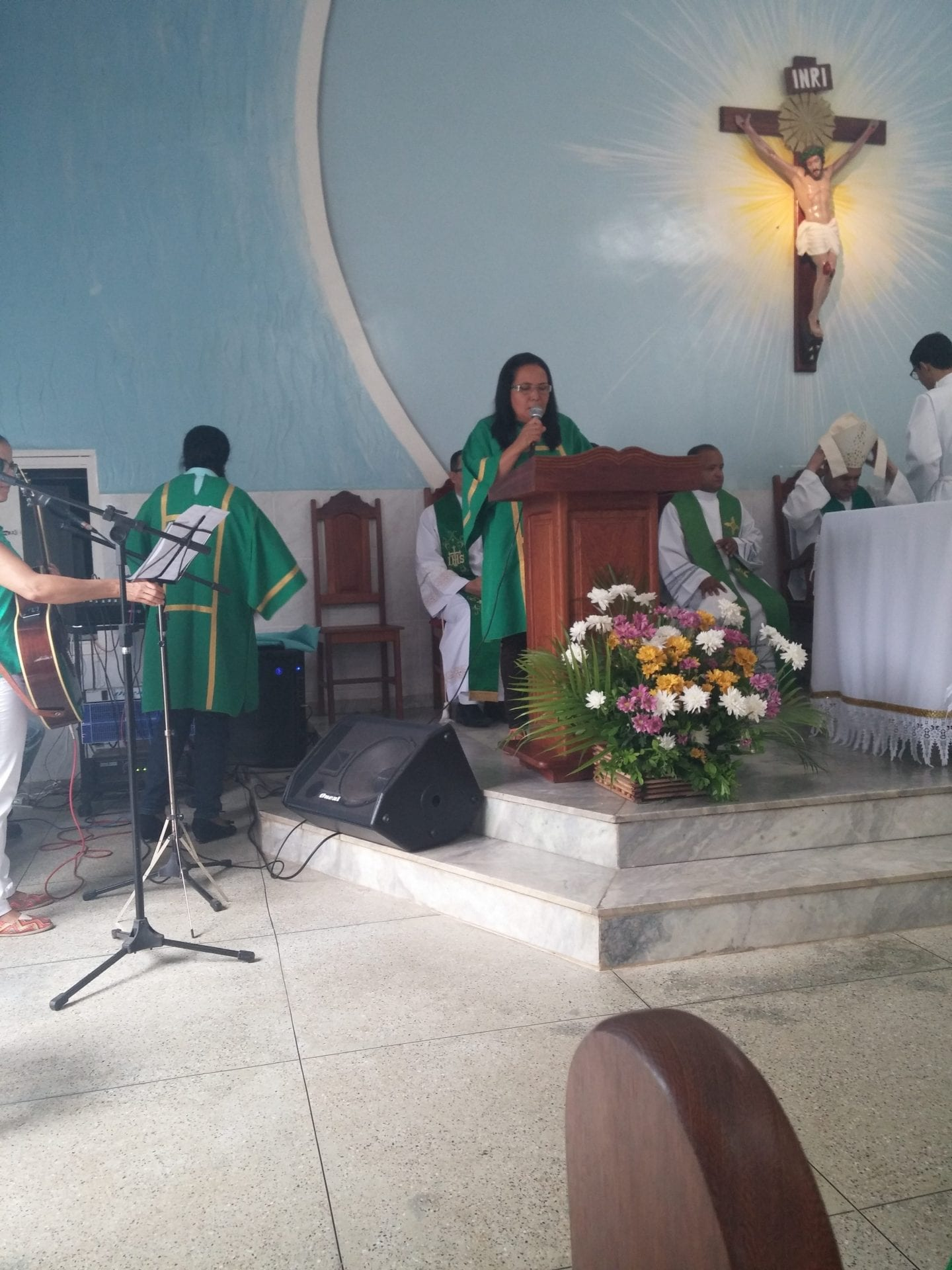 Padre José Roberto Martins toma posse na Paróquia São Geraldo da Piedade