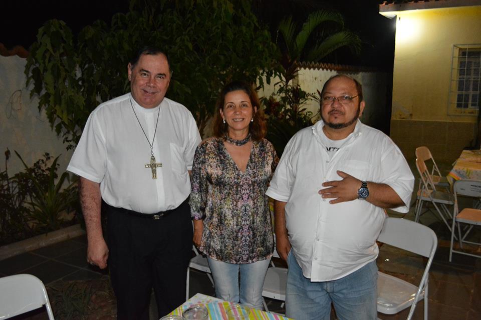 Dom Félix realiza visita pastoral na Paróquia Nossa Senhora da Saúde