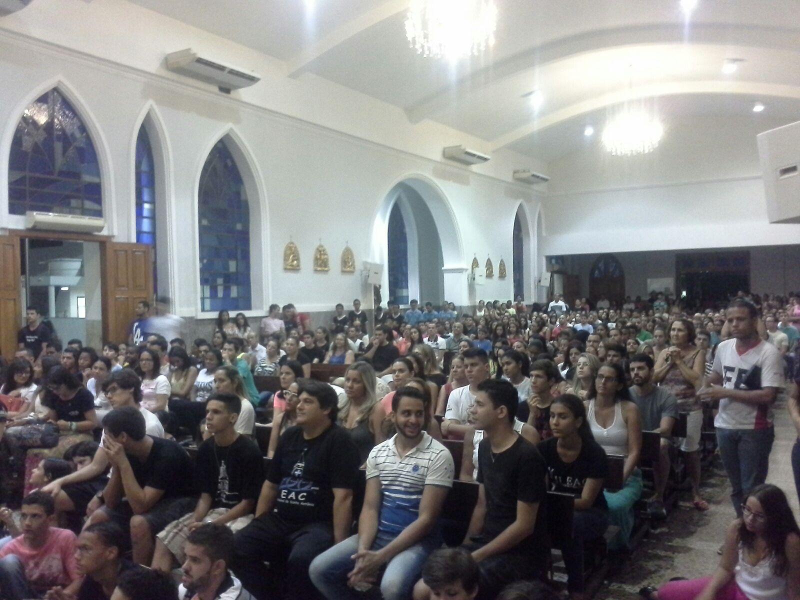 Dom Félix realiza visita Pastoral na Catedral de Santo Antônio