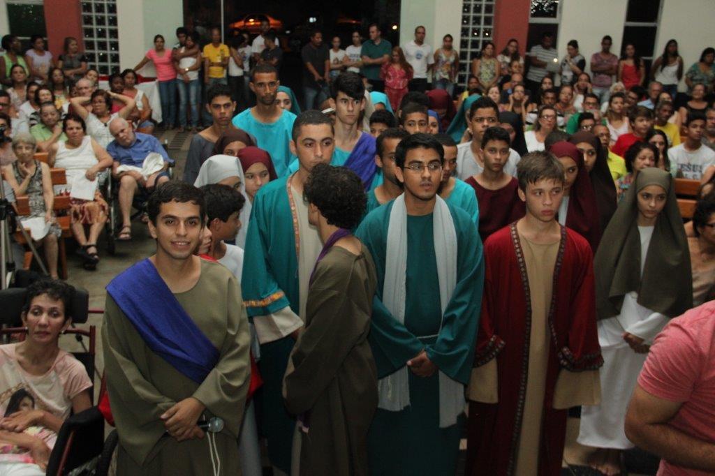 Semana Santa – Paróquia Nossa Senhora de Lourdes (GV)