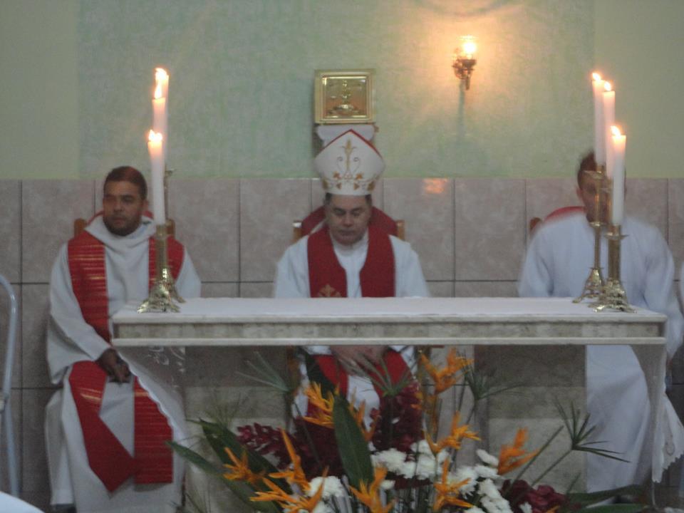 Dom Félix realiza Visita Pastoral na Paróquia São João Batista