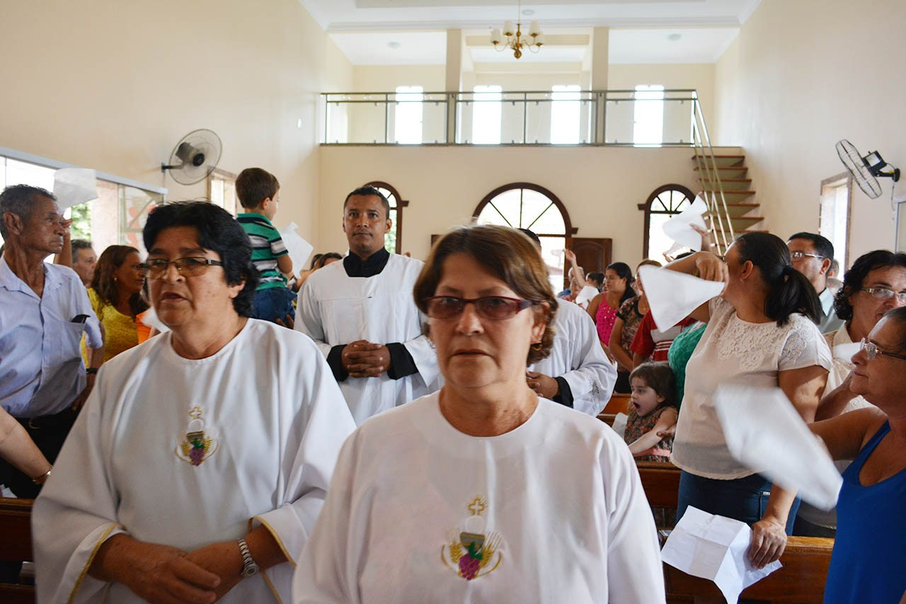 Dom Félix realiza Visita Pastoral na Paróquia Sagrado Coração de Jesus em Itanhomi