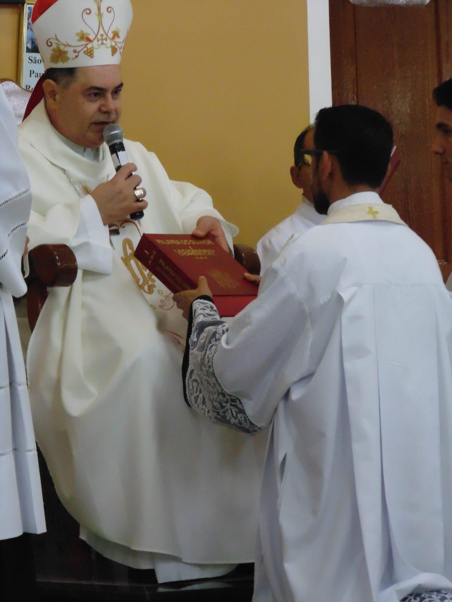 Padre Luiz Carlos toma posse como Pároco da Paróquia da Turmalina