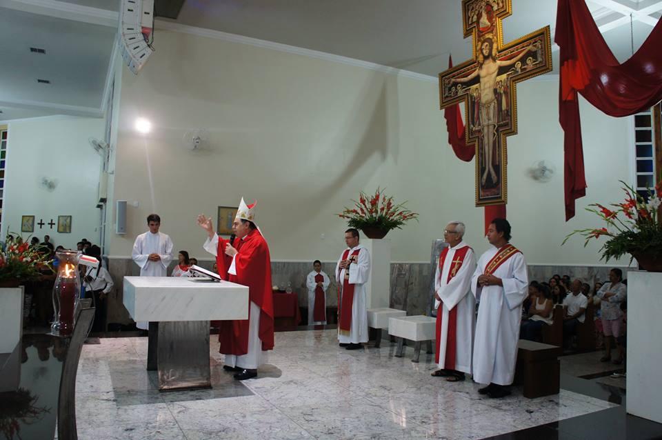 VISITA PASTORAL NA PARÓQUIA SANTA RITA (GV)