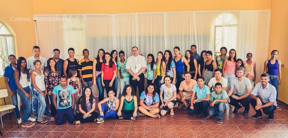 Dom Félix realiza visita pastoral na Paróquia São Sebastião em Capitão Andrade