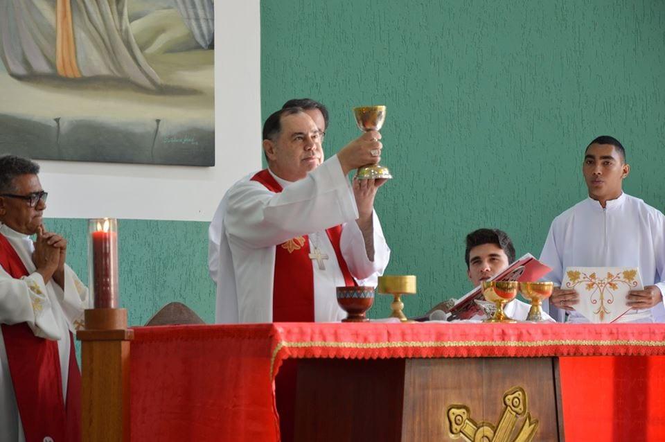 Crisma na Paróquia São Judas Tadeus