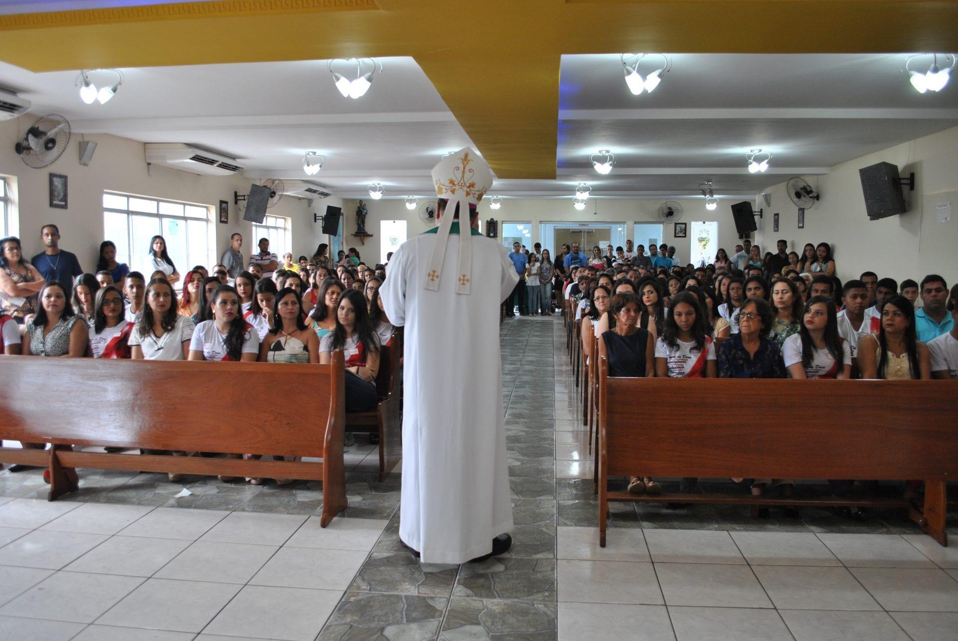 Crisma na Paróquia  Nossa Senhora de Guadalupe