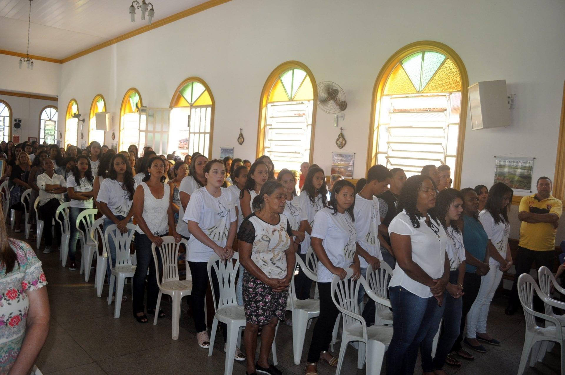 Dom Félix realiza Visita Pastoral na Paróquia de Gonzaga