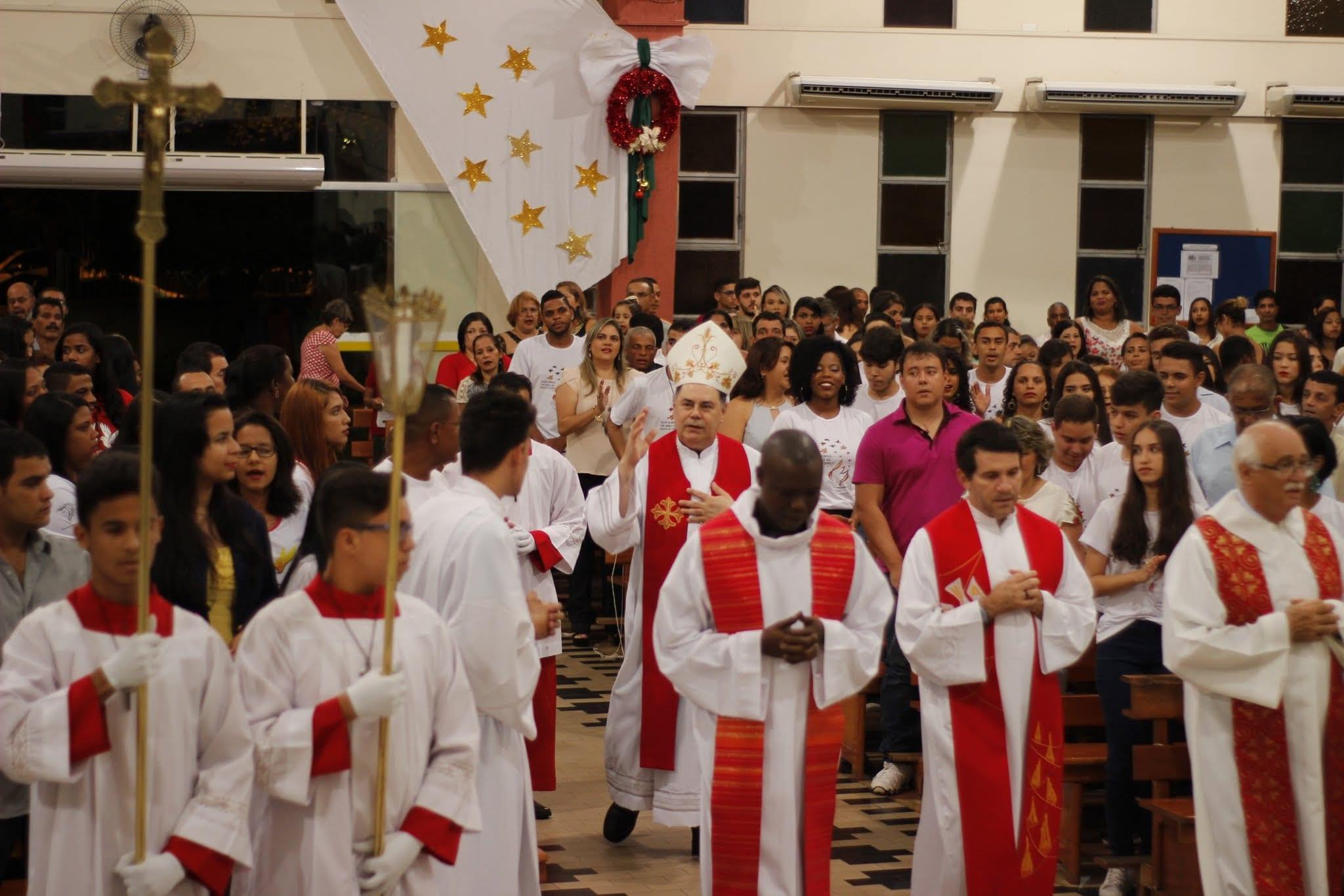 Crisma na Paróquia Nossa Senhora de Lourdes