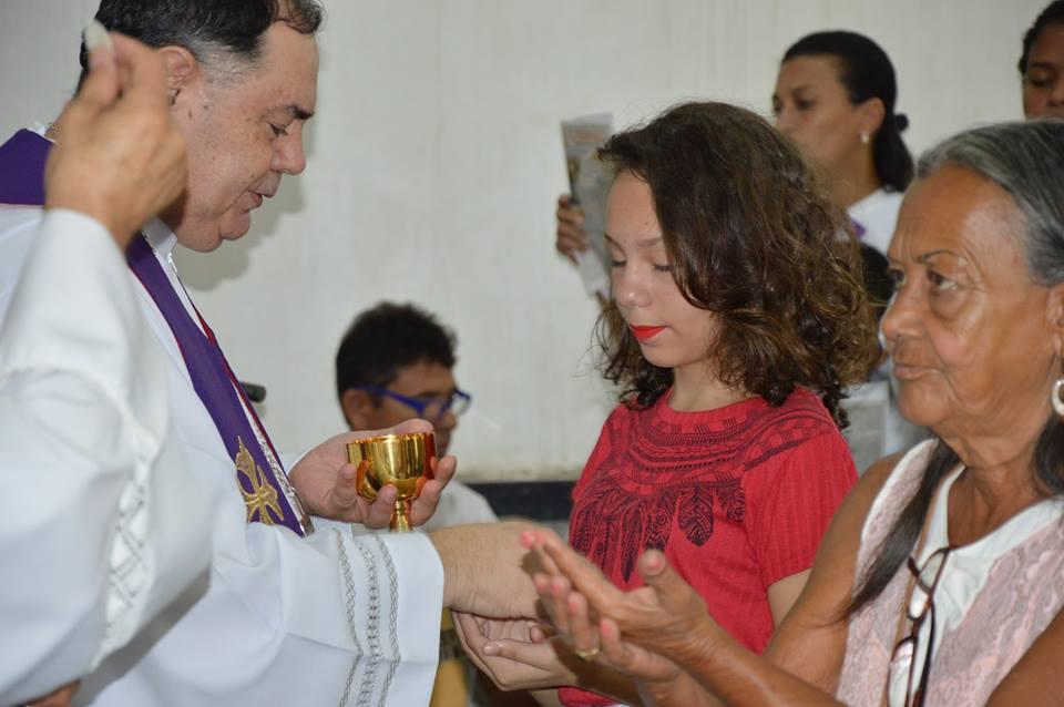 VISITA PASTORAL NA PARÓQUIA SÃO JUDAS TADEU EM VALADARES