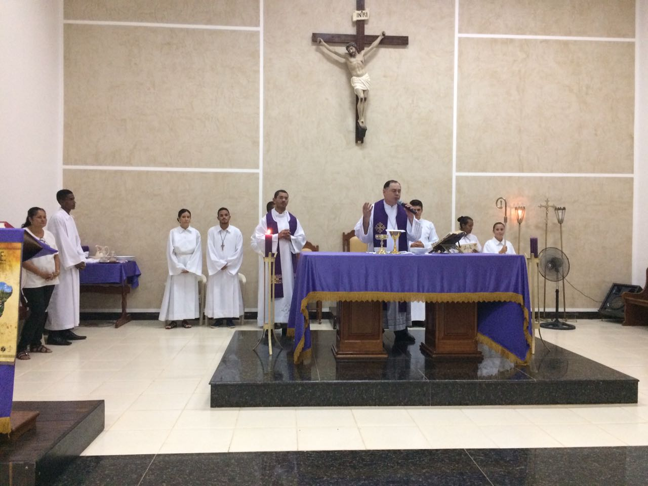 Visita Pastoral na Paróquia de Tumiritinga