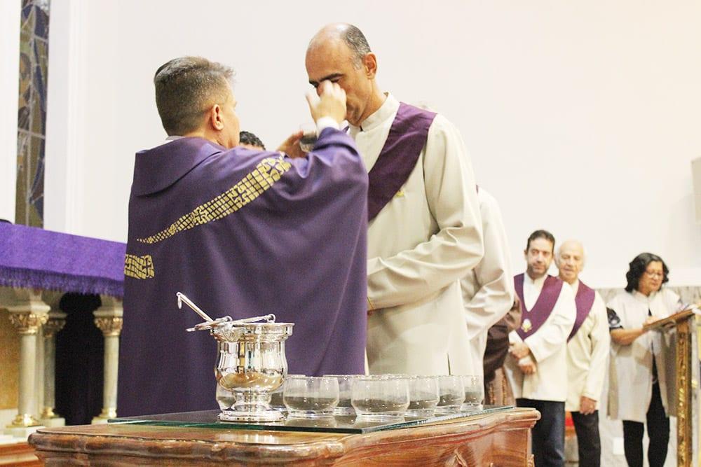 Missa com imposição das Cinzas e abertura CF 2017