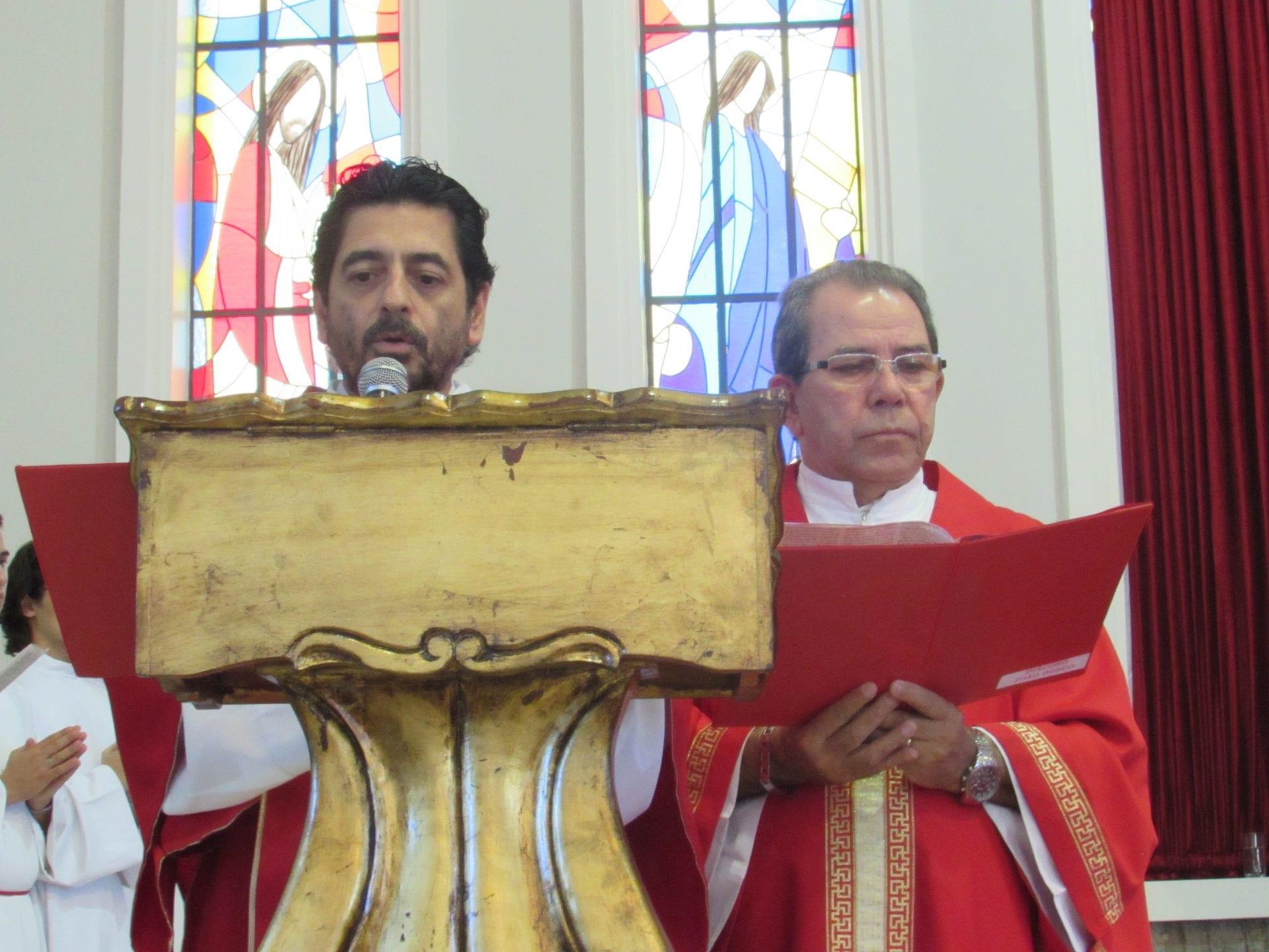 AÇÃO LITÚRGICA DA PAIXÃO NA CATEDRAL