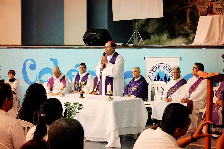 1º ENCONTRO REGIONAL DA PASTORAL FAMILIAR COM CASAIS EM 2ª UNIÃO