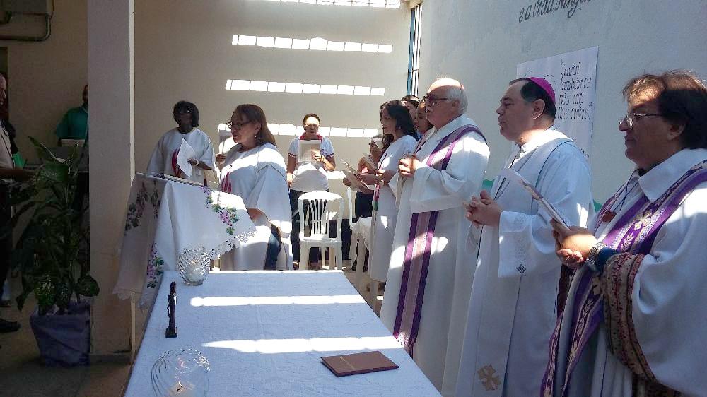 Missa do Lava-Pés na Penitenciária do Distrito de Paca