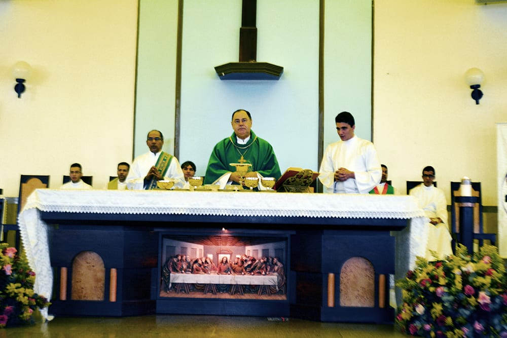 Dom Félix celebra Missa no Encontro do Apostolado da Oração