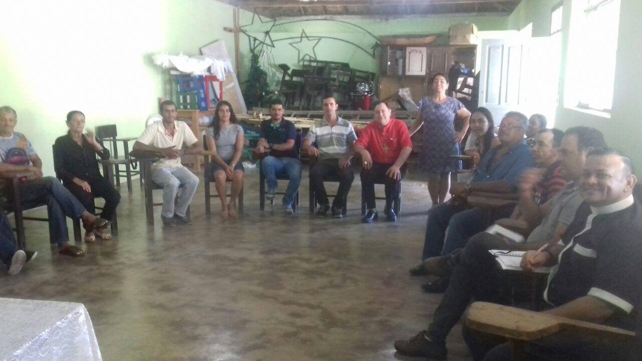 VISITA PASTORAL NA PARÓQUIA DE CUPARAQUE
