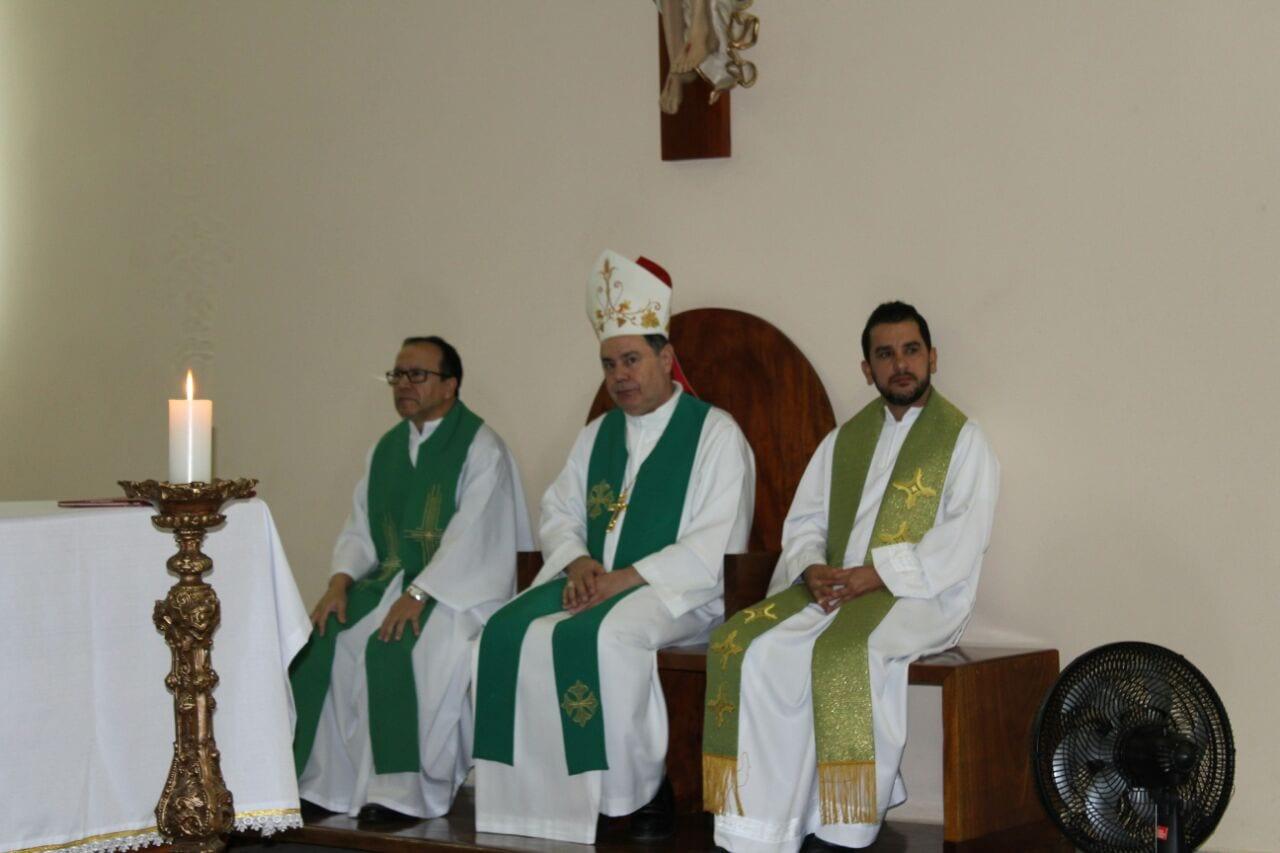 Posse de Padre Geraldo Luiz na Paróquia de Periquito