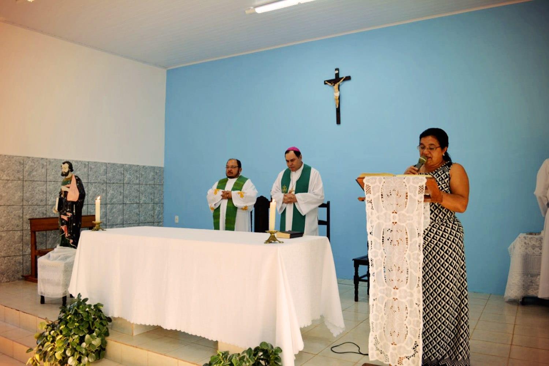 VISITA PASTORAL NA PARÓQUIA DE NACIP RAYDAN