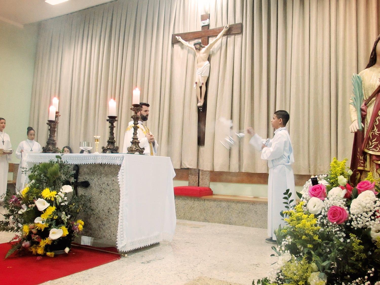 Festa da Padroeira da Paróquia Santa Helena em Governador Valadares