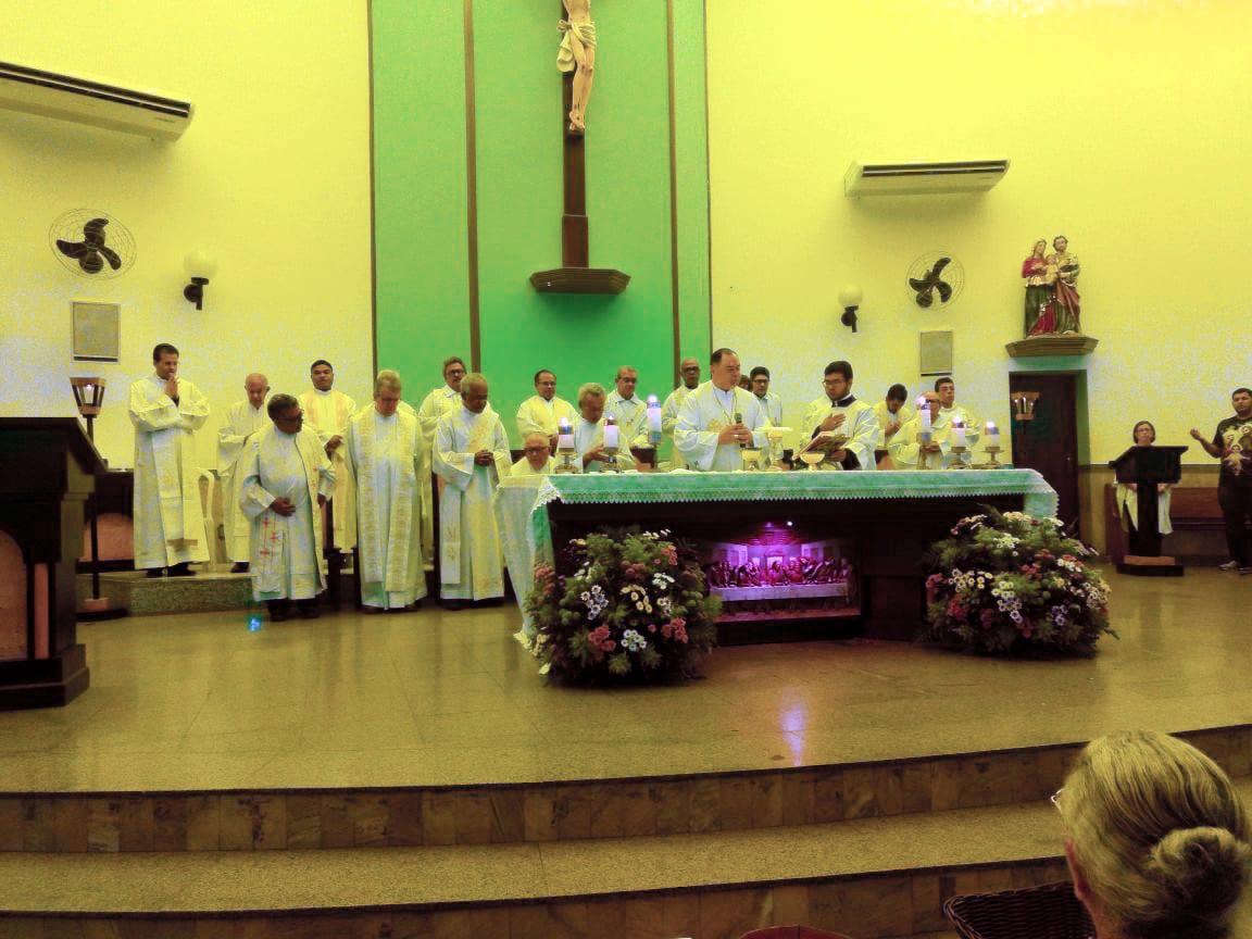 Homenagem do Clero ao Padre Antônio Amort