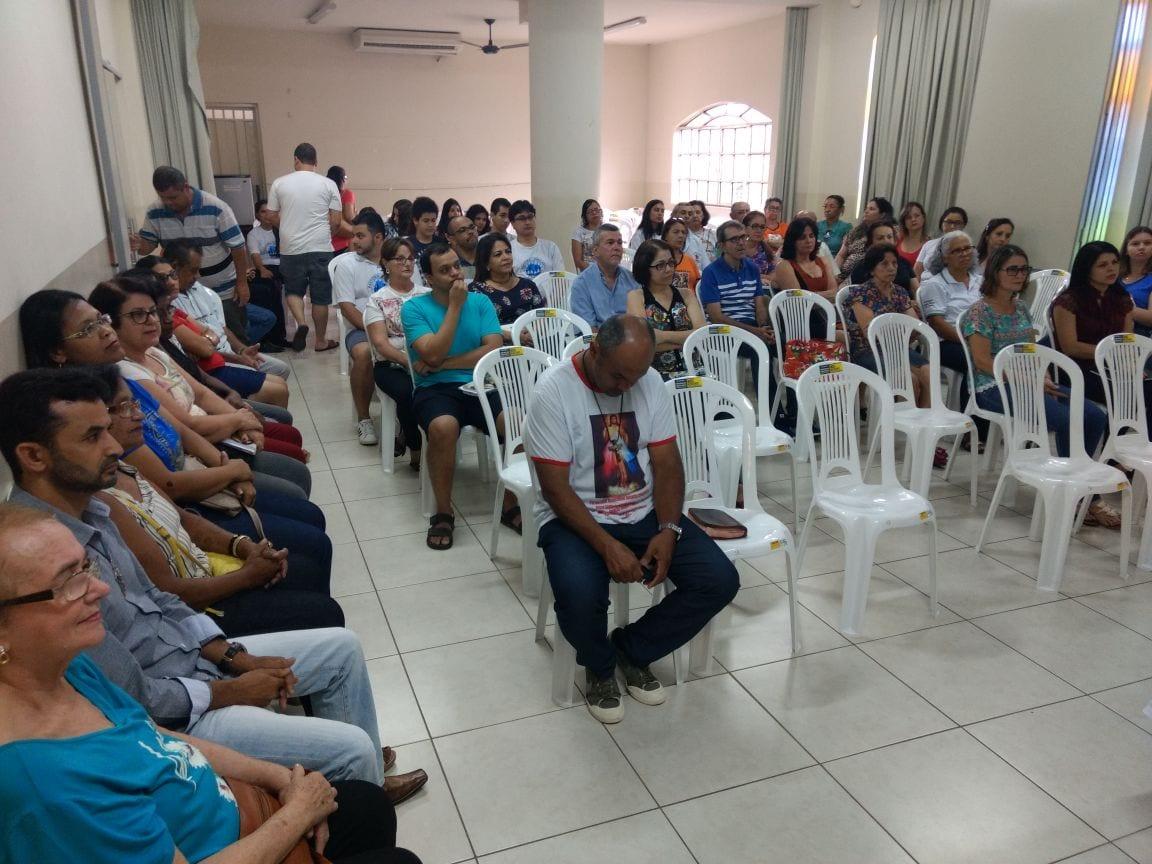 VISITA PASTORAL NA PARÓQUIA SANTA ROSA DE LIMA EM VALADARES