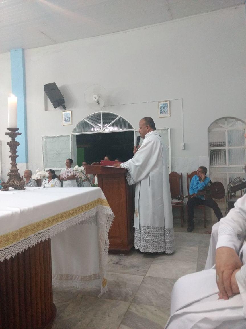 Dom Félix celebra na Paróquia de São Geraldo da Piedade