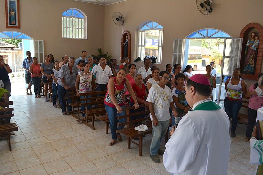 Visita Pastoral na Paróquia de Açucena