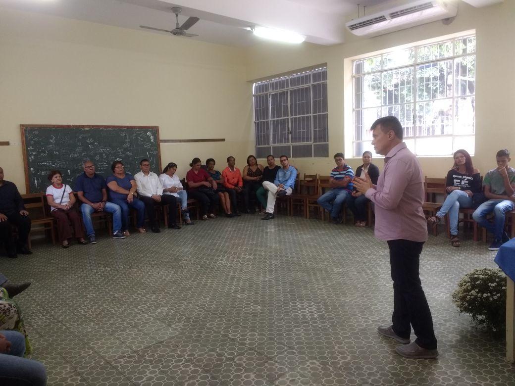 Encontro com as famílias dos seminaristas da Diocese de Valadares