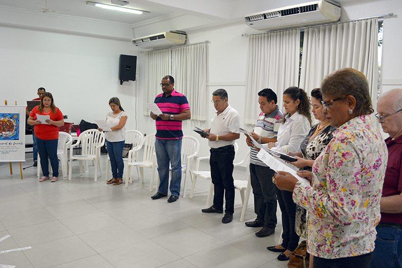 Primeira Reunião do CDP em 2018 no Salão da Catedral