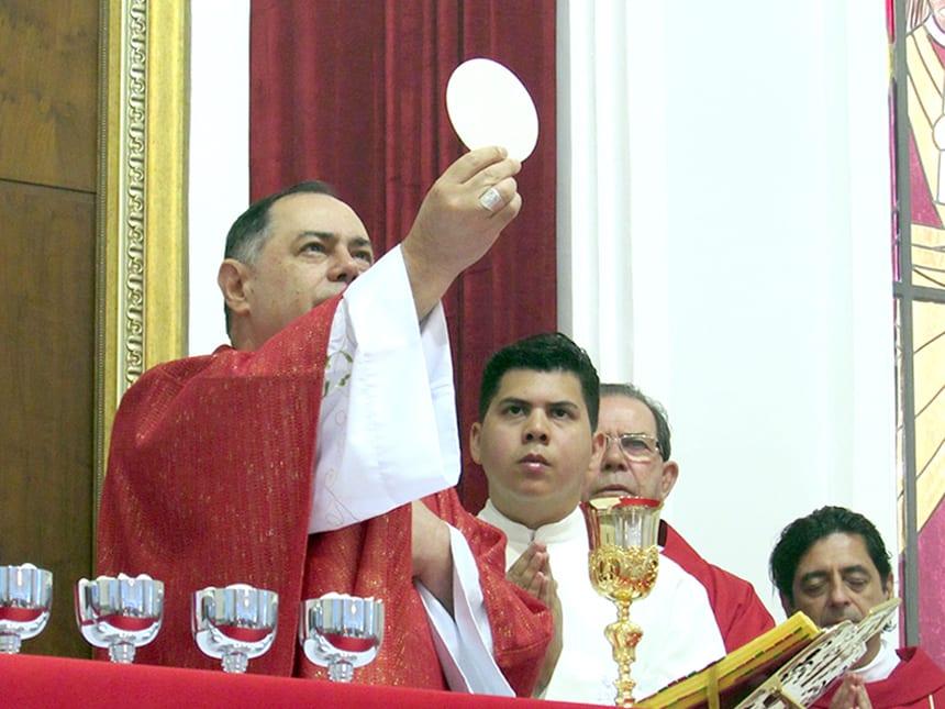 Dom Félix celebrou o Domingo de Ramos na Catedral