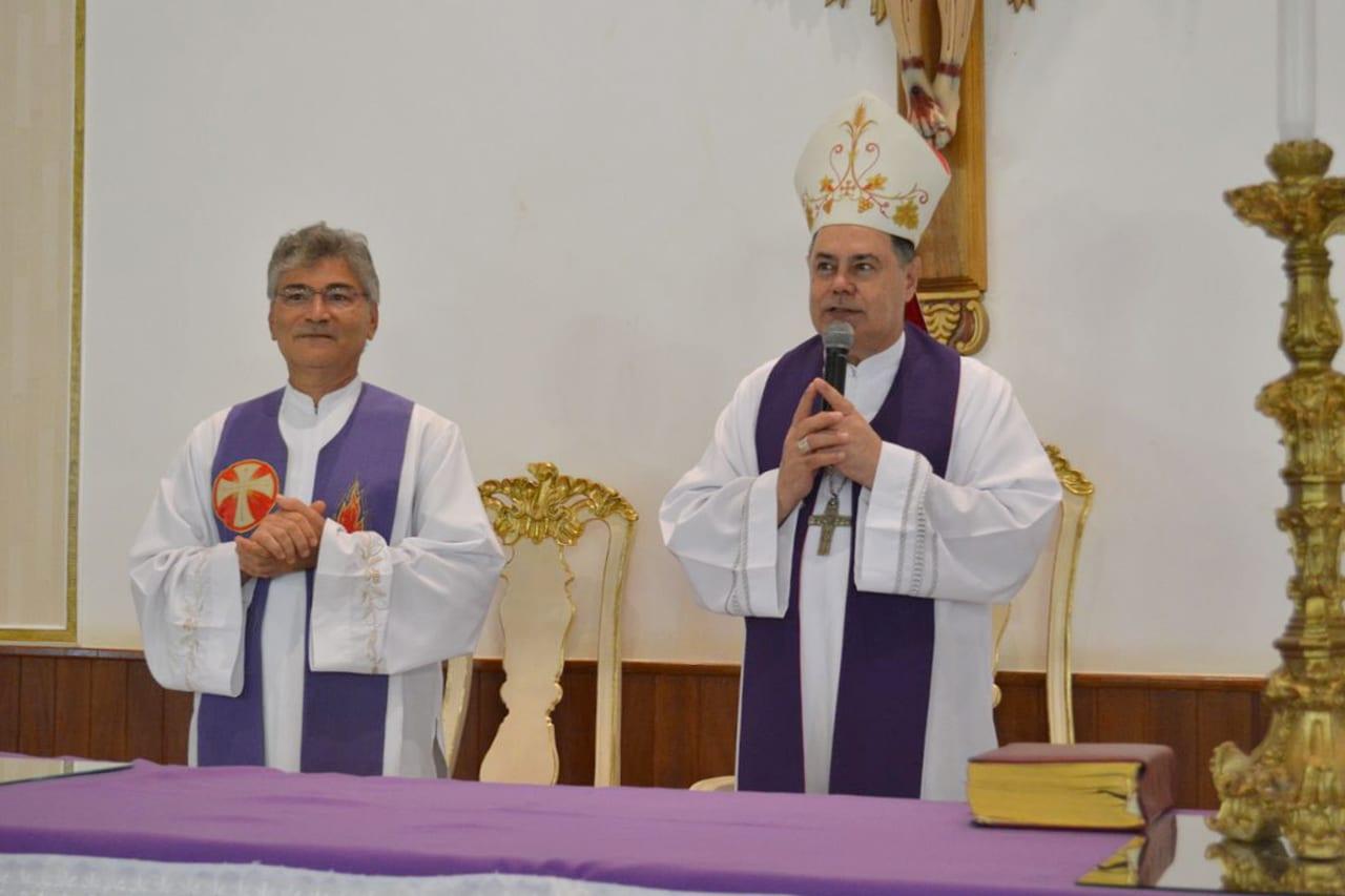 Dom Félix celebra Missa na Novena do Padroeiro em Safira