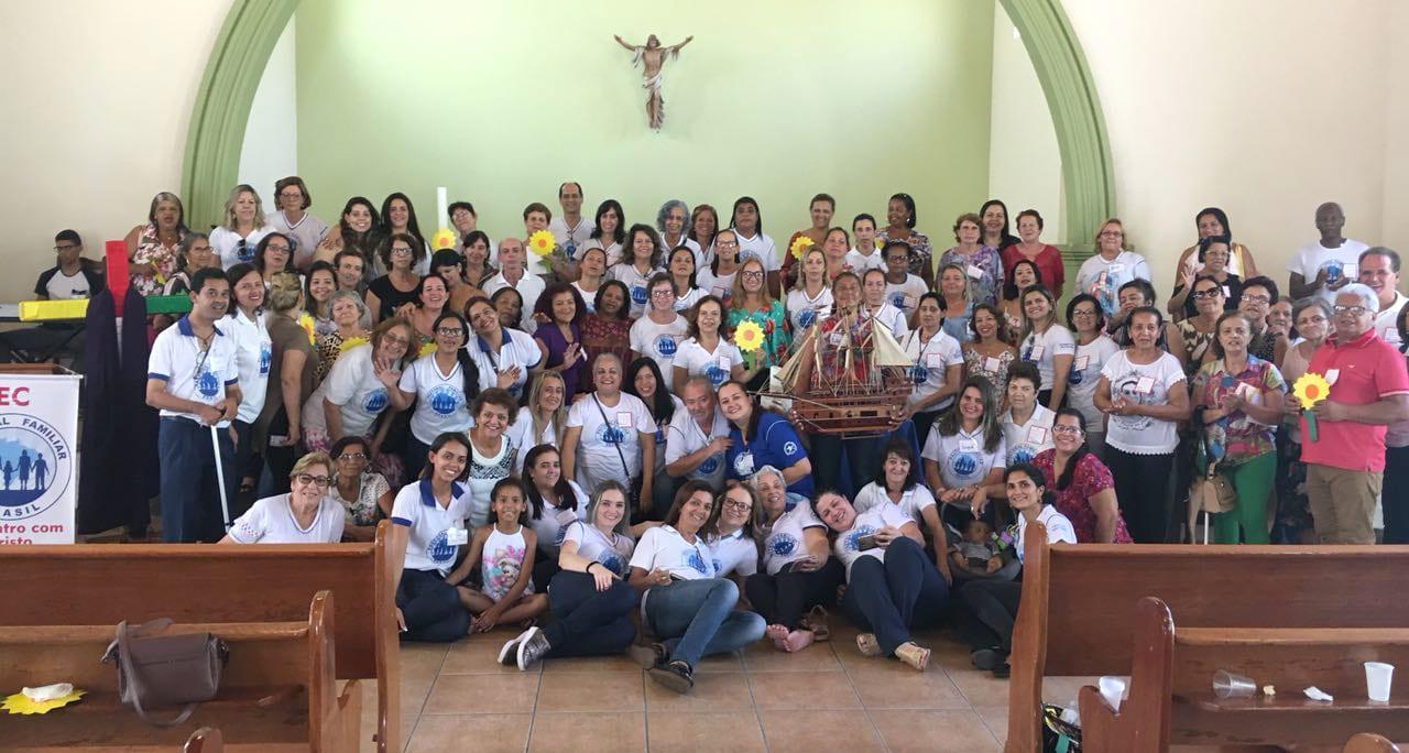 """1º Reencontro do EC """"Encontro com Cristo"""" da Pastoral Familiar"""