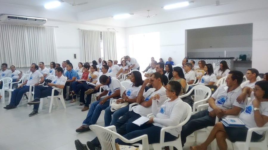 Formação para os Agentes da Pastoral Familiar na Catedral em GV