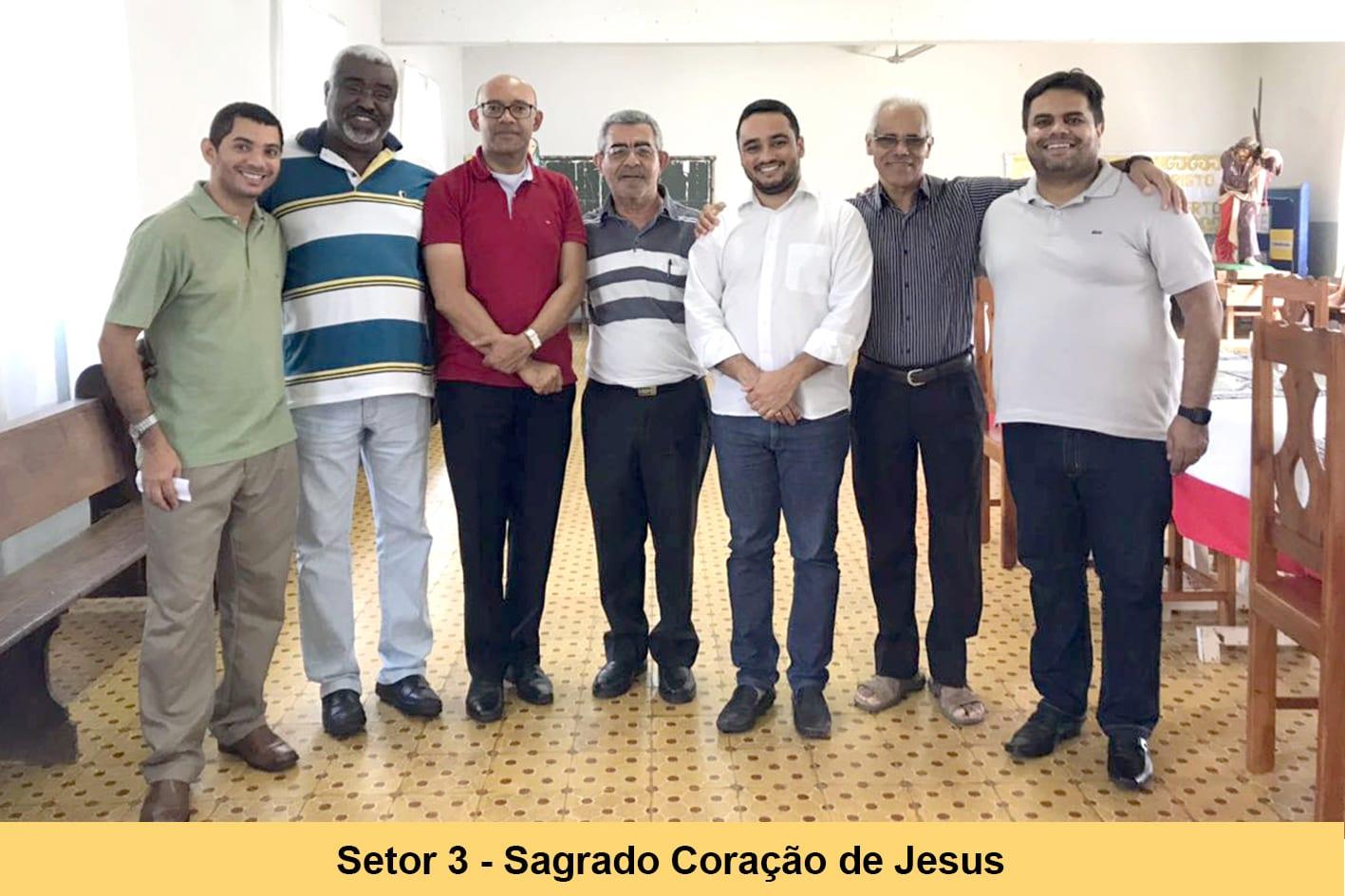 Formação para os Padres dos Setores da Diocese