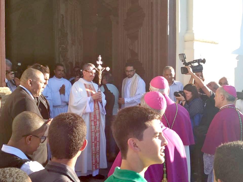Missa de Posse do novo Arcebispo de Mariana