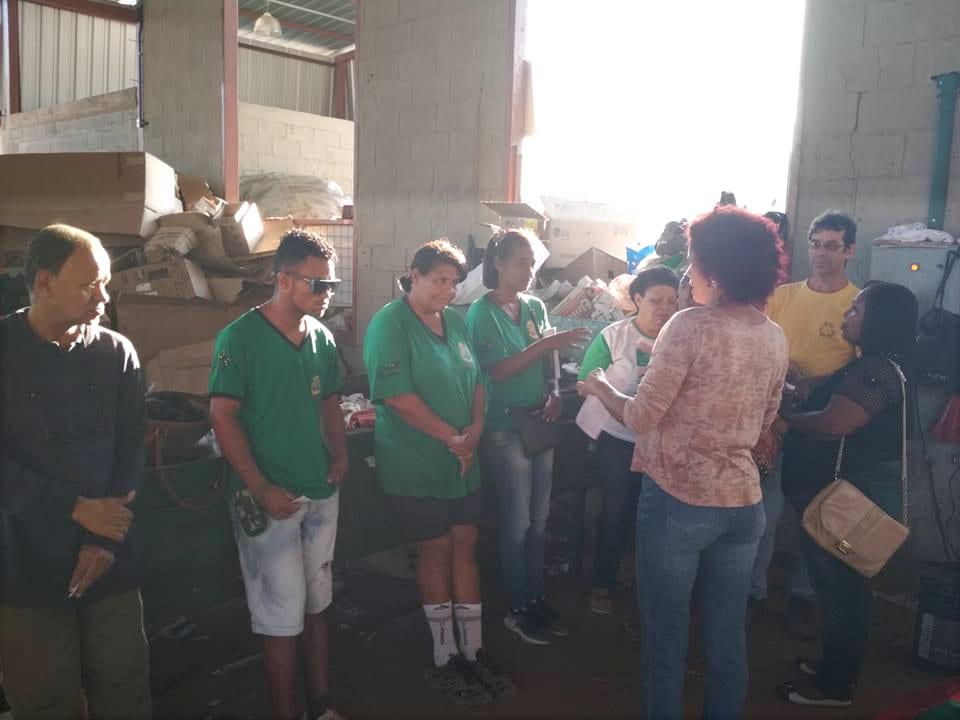 Oração e Lanche com os Trabalhadores da Ascanavi