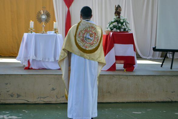 Padre Lucas celebra Missa ao Apostolado da Oração – Setor 3