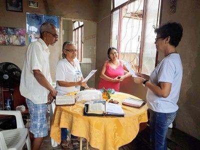 Missão na Comunidade Santa Maria Madalena, Paróquia de Lourdes