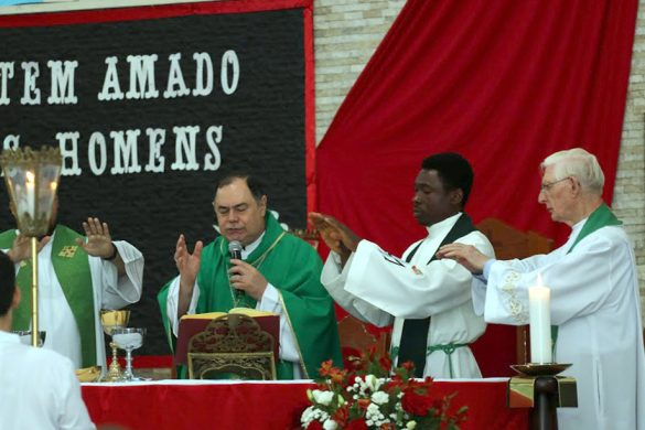 Dom Félix celebra Missa do Apostolado da Oração – Setor 5