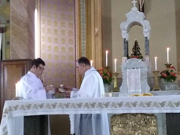 Dom Félix visita os Seminaristas de Valadares em Mariana