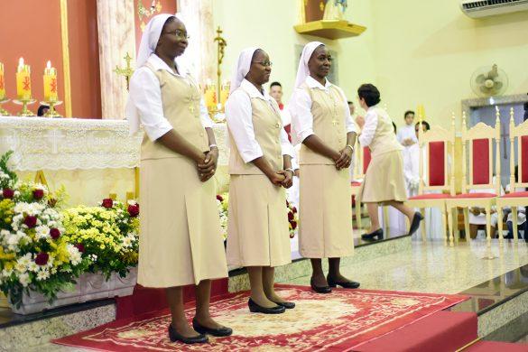 Profissão dos Votos Perpétuos por Irmãs Espiritanas