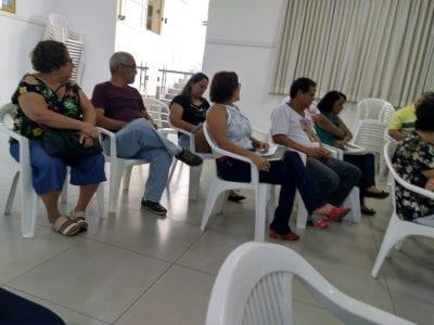REUNIÃO DE FORMAÇÃO PARA O CDP NO SALÃO DA CATEDRAL