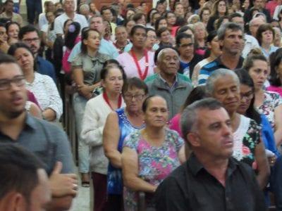 POSSE DO PADRE SCHNEIDER COMO PÁROCO EM AÇUCENA