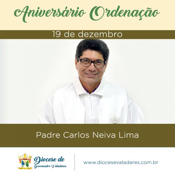 MENSAGEM AOS PADRES JUBILARES DE PRATA DE 2018