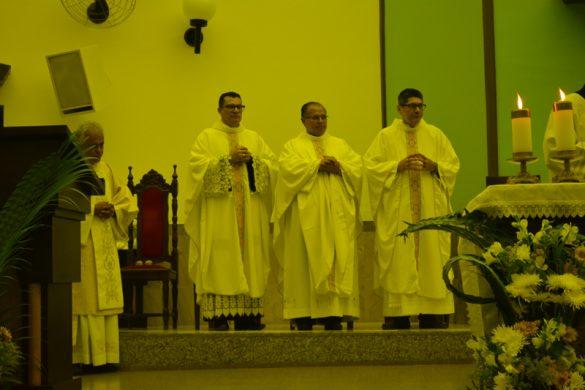 Missa do Jubileu Presbiteral de 07 Padres Diocesanos