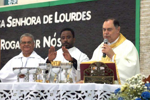 Paróquia Nossa Senhora de Lourdes celebra a sua Padroeira