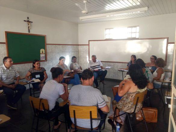 Formação Diocesana na Paróquia da Ilha