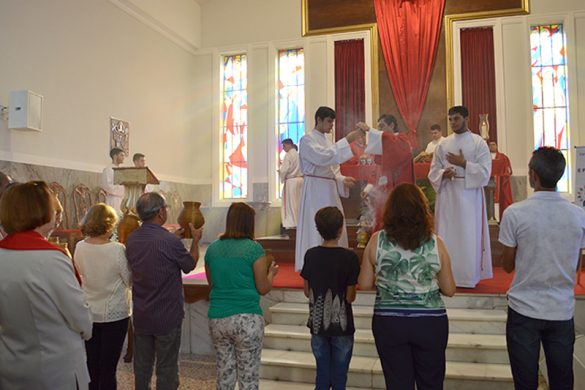 Bênção e Missa de Ramos na Catedral de Valadares